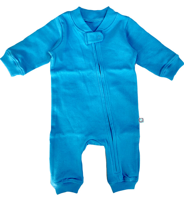 Zip Romper - Sky themumsshop