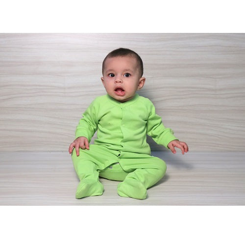 Snap Footie - Kiwi | Baby Clothes