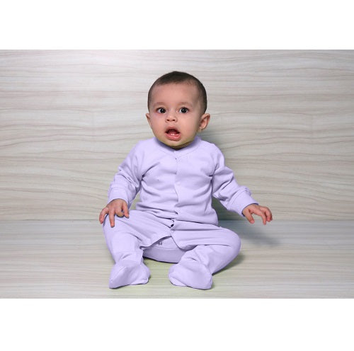 Snap Footie - Lavender | Baby Clothes