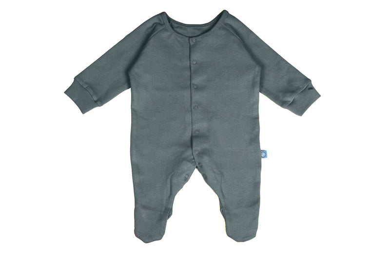 Snap Footie - Dark Grey themumsshop