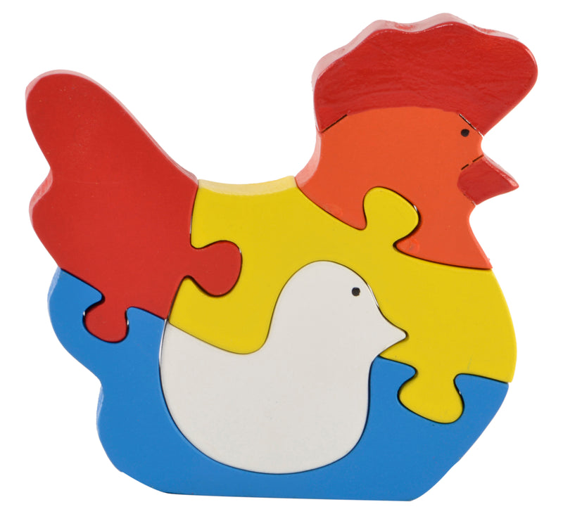 Take Apart Puzzle Hen Chick-Toys-THE MUM SHOP