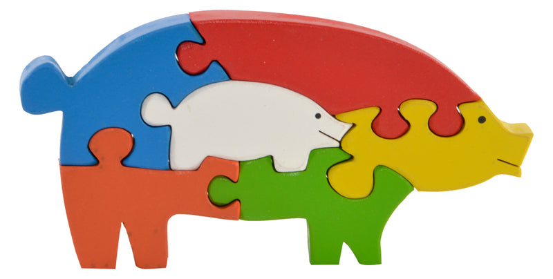Take Apart Puzzle Pig-Toys-THE MUM SHOP