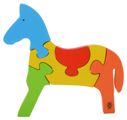 Take Apart Puzzle Horse-Toys-THE MUM SHOP