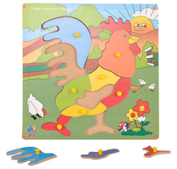 Jumbo Theme Puzzle Rooster-Toys-THE MUM SHOP