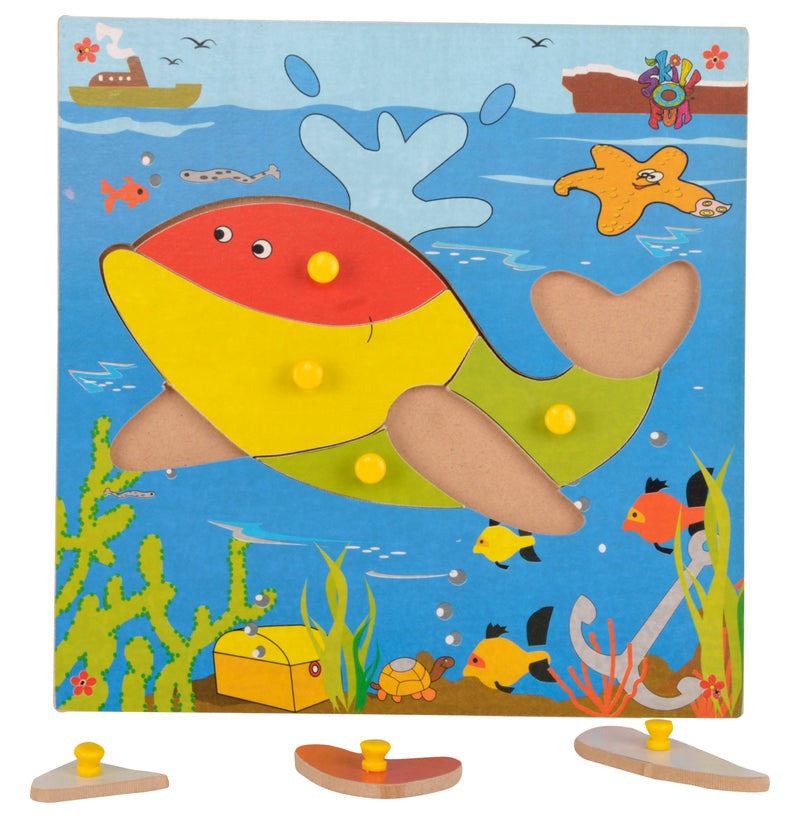 Theme Puzzle Whale-Toys-THE MUM SHOP