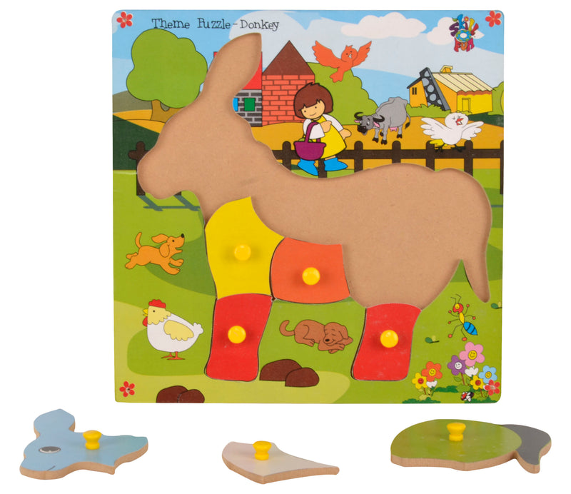 Theme Puzzle Donkey-Toys-THE MUM SHOP