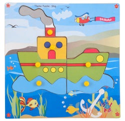 Theme Puzzle Ship-Toys-THE MUM SHOP