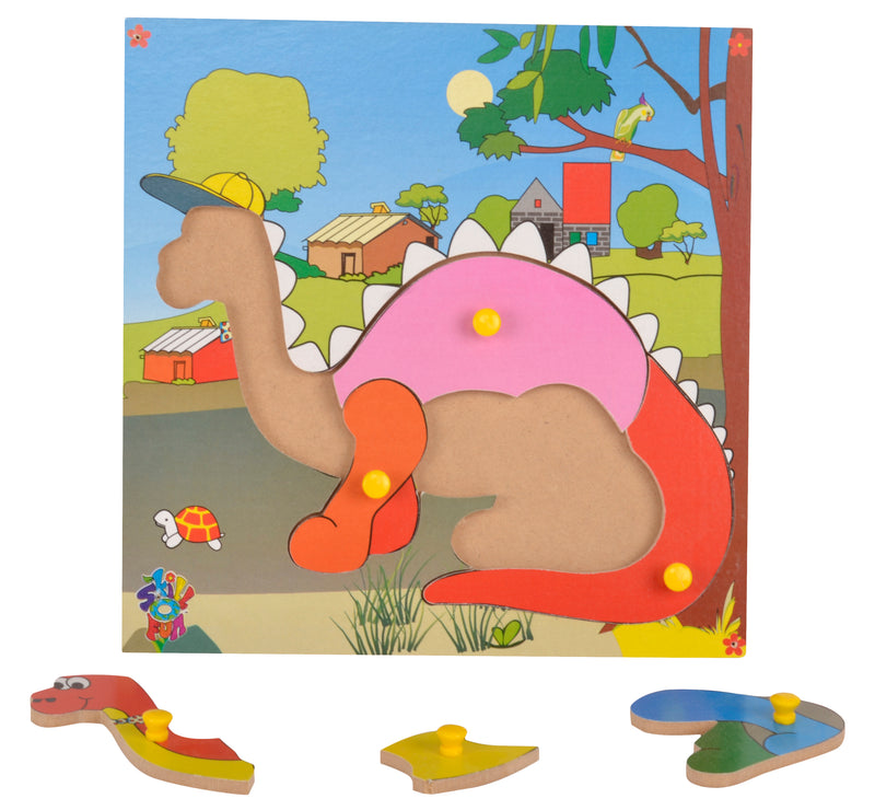 Theme Puzzle Dinosaur-Toys-THE MUM SHOP