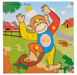 Theme Puzzle Monkey-Toys-THE MUM SHOP