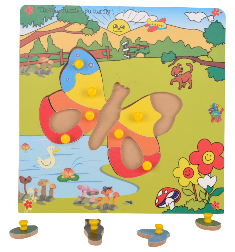 Theme Puzzle Butterfly-Toys-THE MUM SHOP