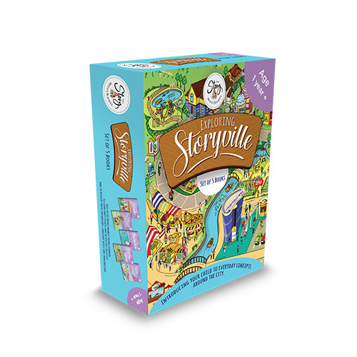 Storyville Set Of 5 Books themumsshop