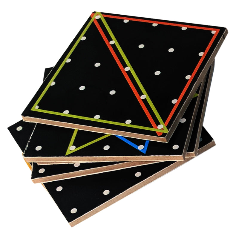 Travel Toy Geometrical Pin Board-Toys-THE MUM SHOP