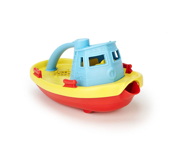 GT TUG BOAT - BLUE TOP-Toys-THE MUM SHOP