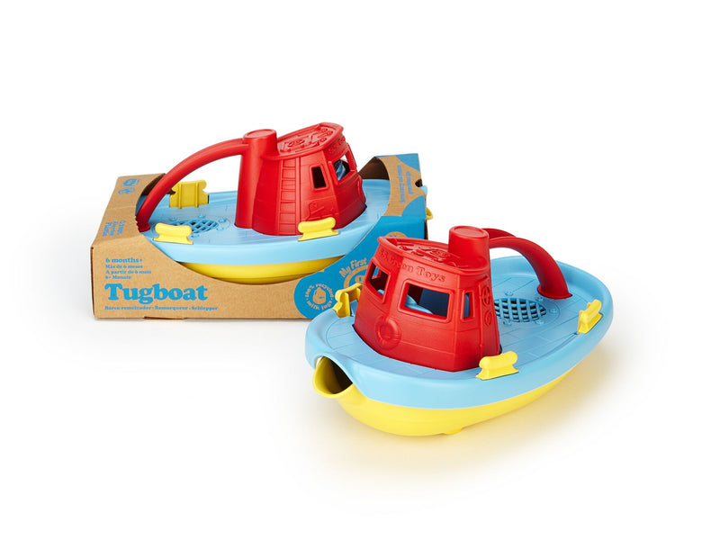 GT TUG BOAT - RED TOP-Toys-THE MUM SHOP