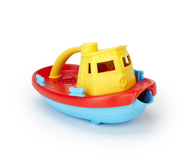 GT TUG BOAT - YELLOW TOP-Toys-THE MUM SHOP