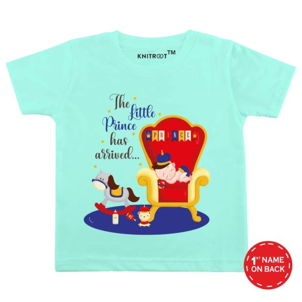 The Little Prince Has Arrived… Baby Wear-4 | Personalised Tshirt