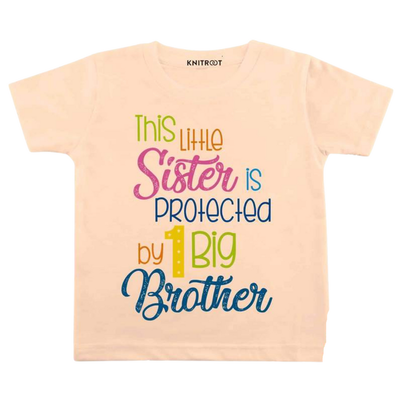 Little Sister to My Brother| Personalised Tshirt