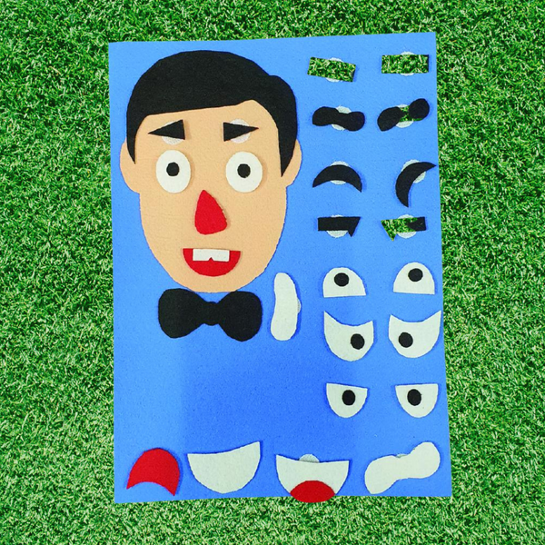 Expression Sheet Creativity Game for Boys