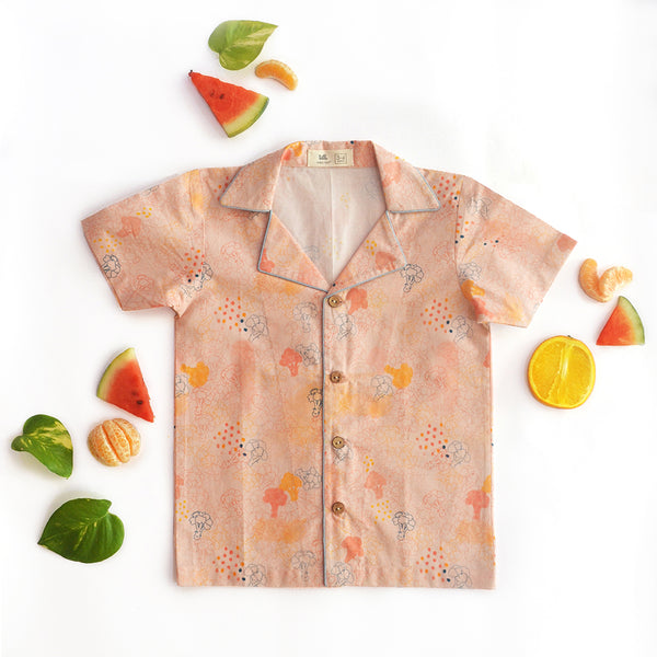 Blush Broccoli Unisex Hawaiian Shirt themumsshop