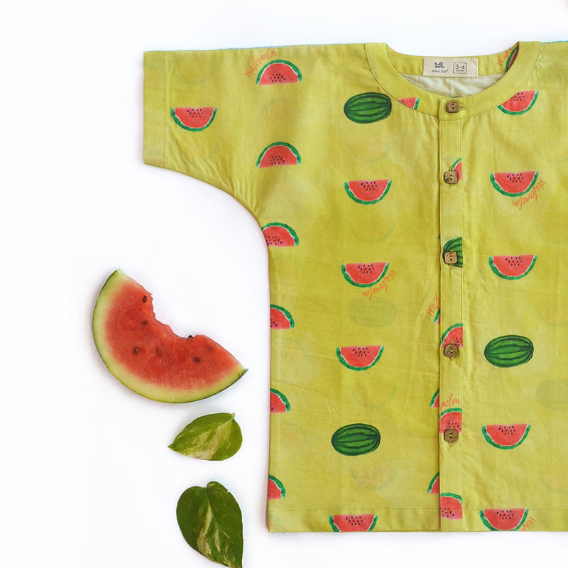 Watermelon Splash Casual Shirt themumsshop