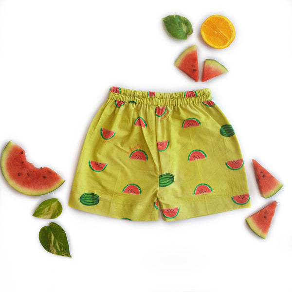 Watermelon Splash Casual Shorts themumsshop