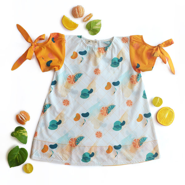 Citrus Tent Dress themumsshop
