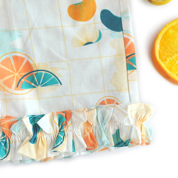 Citrus Frill Shorts themumsshop
