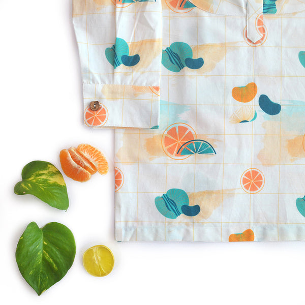 Citrus Short Kurta themumsshop