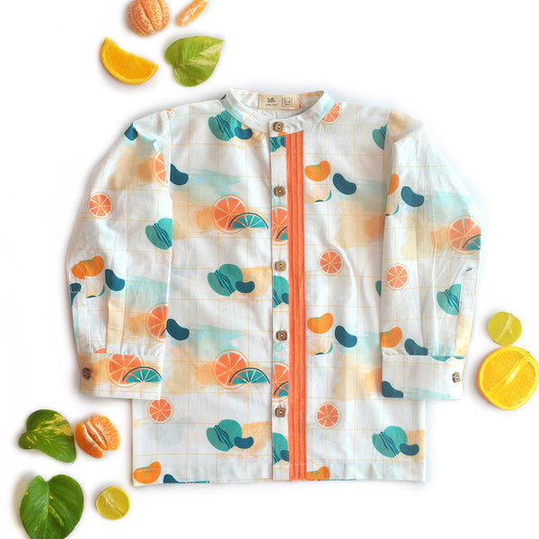 Citrus Pintuck Shirt themumsshop