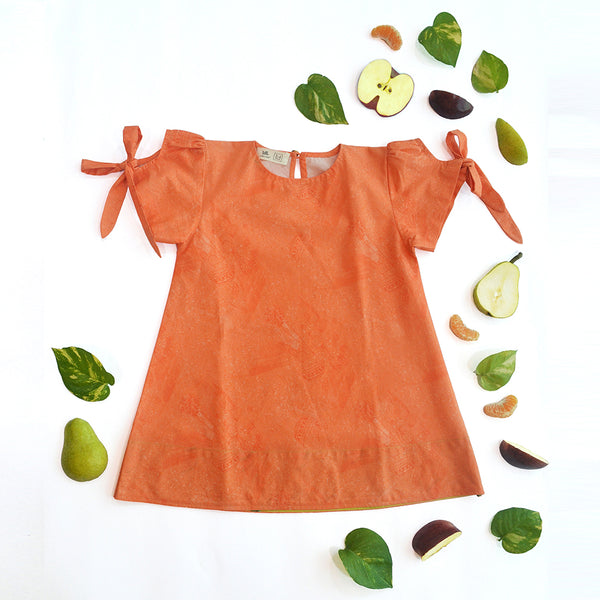Coral Salad Tent Dress themumsshop