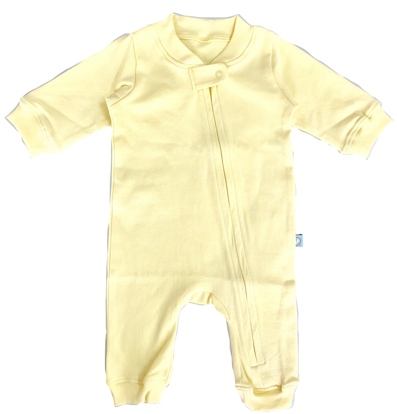 Zip Romper - Vanilla themumsshop