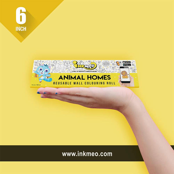 Animal Homes Colouring Roll | Educational & Learning | 2 years - 10 years