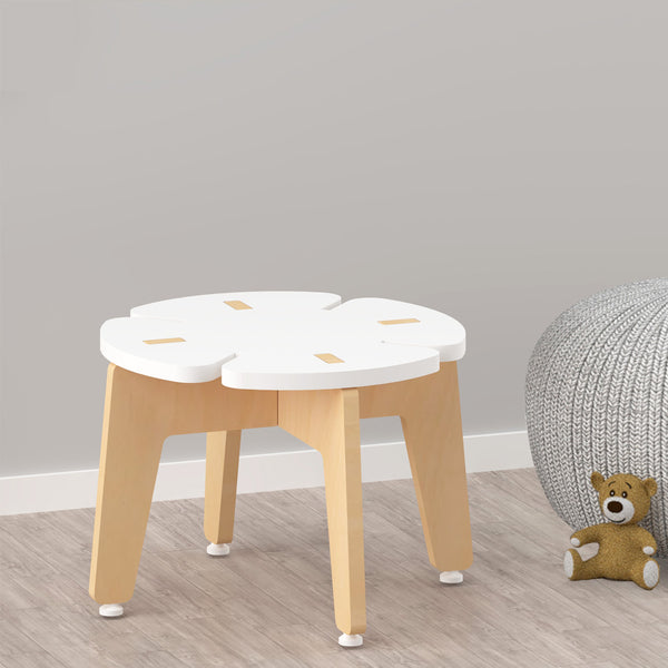 Kids Furniture Stool - White