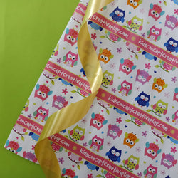 Personalised Wrapping Papers - White Owls