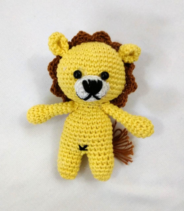 Amigurumi Soft Toy- Lion | Crochet Toys