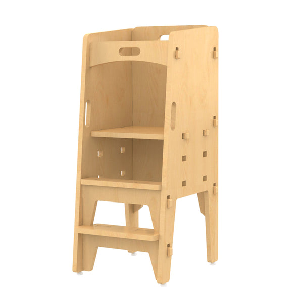 Yellow Lychee- Stool Learning Tower | Kids Furniture Age: 1.5 - 5 Years