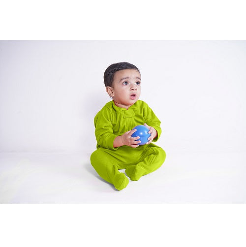 Zip Footie - Kiwi | Baby Clothes