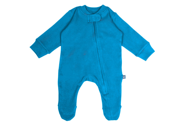Zip Footie - Sky themumsshop