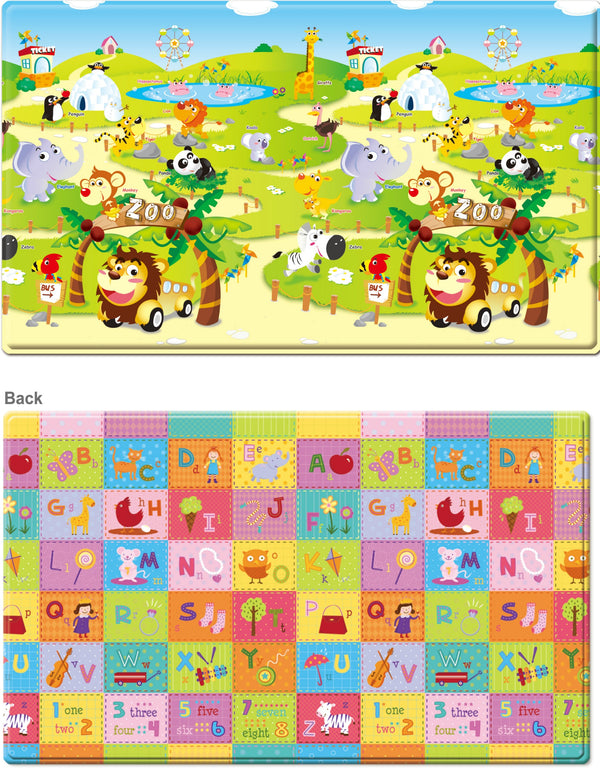 ZOO PLAYMAT (MEDIUM)-Play Mat-THE MUM SHOP