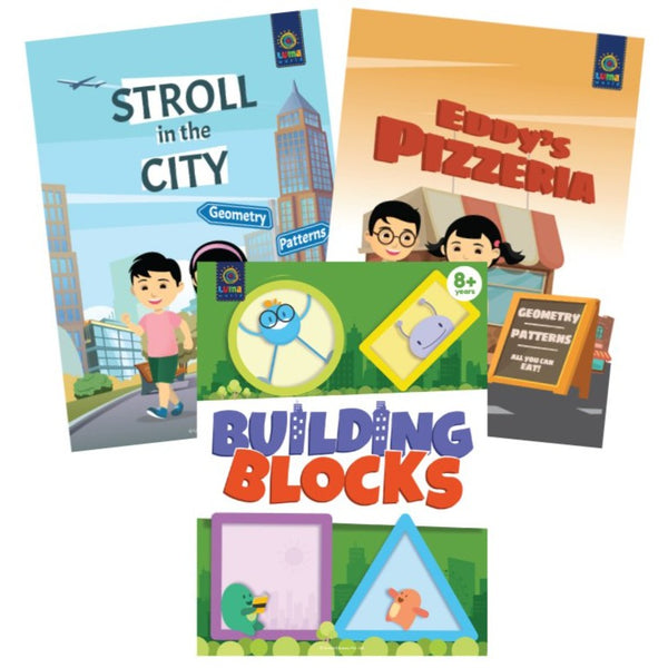 Ace the Shapes : (Bundle of 3 Books)