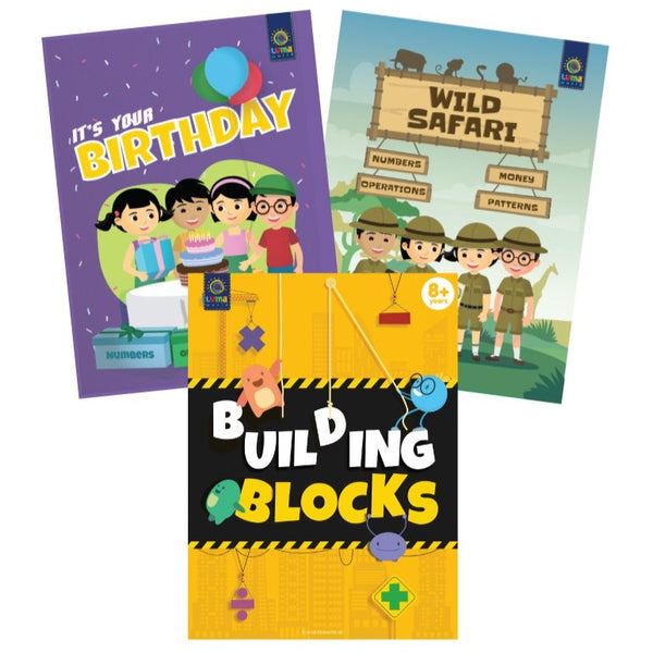 Fun with Numbers : (Bundle of 3 Books) - Read & Learn - Age 7+ Years