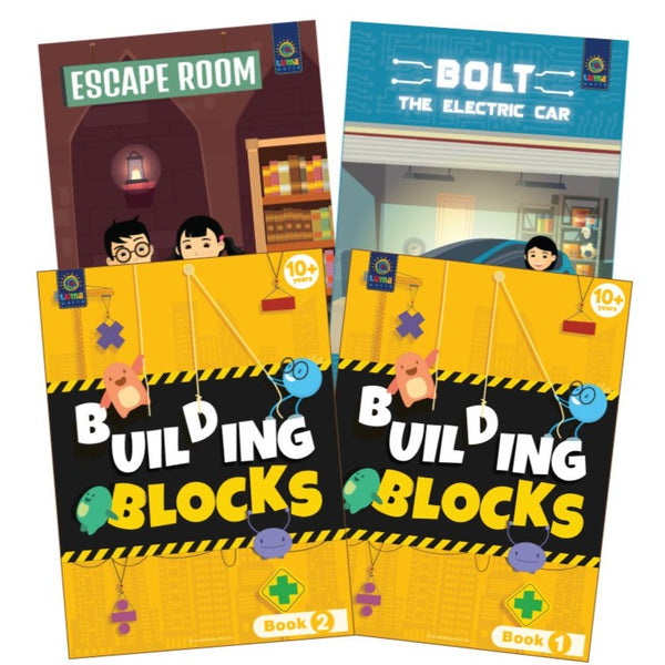Number Quest : (Bundle of 4 Books) - Read & Learn - Age 10+ Years