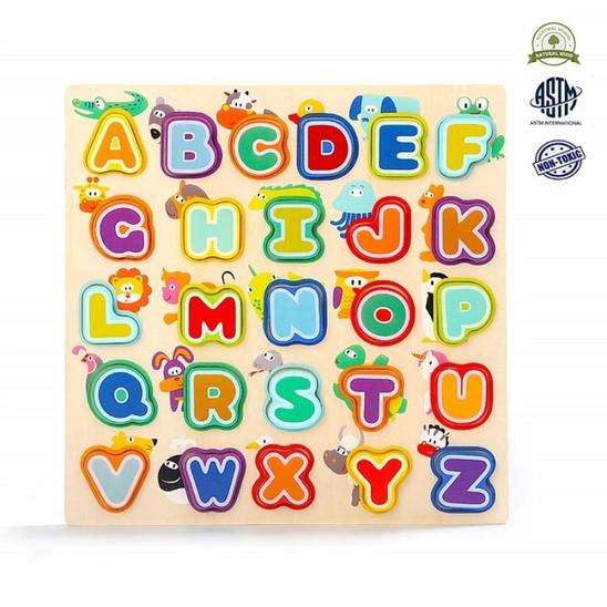 Animals & Alphabet Puzzle - Age -2 Years+