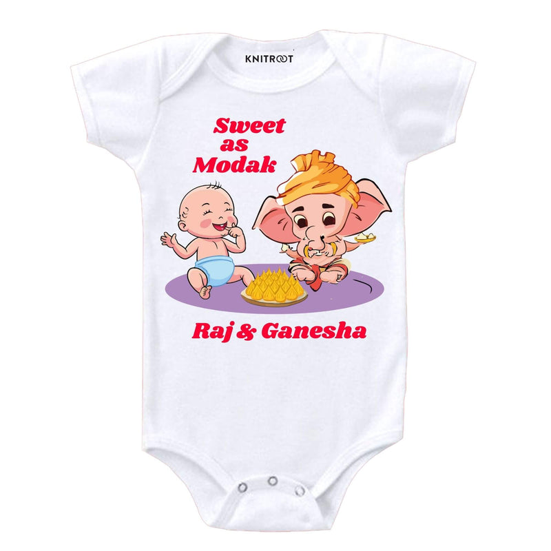 Sweet As Modak | Personalised Baby Onesie