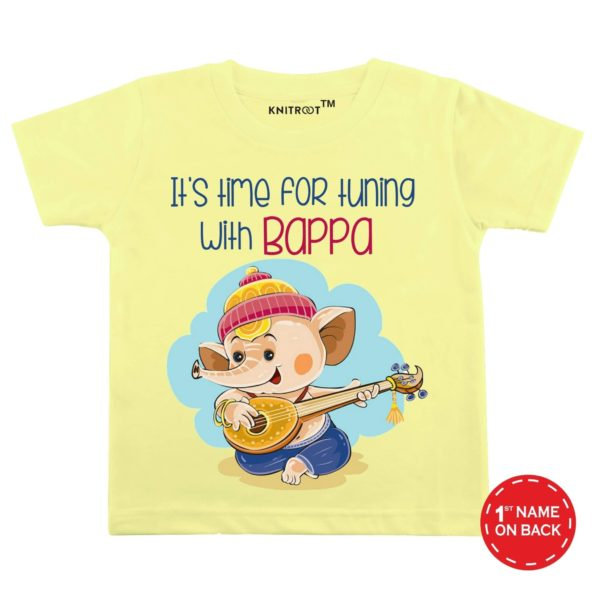 Tuning with Bappa Special Wear for Ganesh Chaturthi | Personalised Tshirt