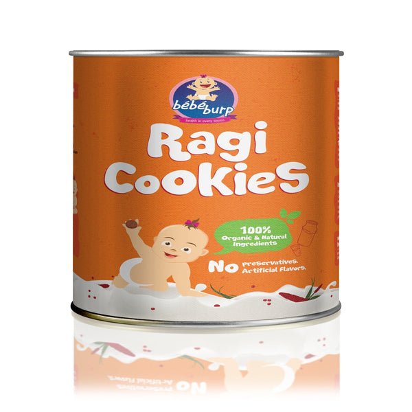 Organic & Natural Ragi Cookies | Baby Food & Snacks