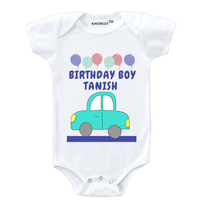 Half Birthday-1 | Personalised Baby Onesie