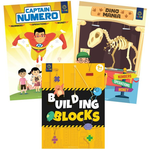Number Hero : (Bundle of 3 Books) - Read & Learn - Age 9+ Years