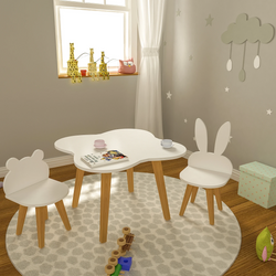 Forest Study & Play Table Set | Kids Furniture