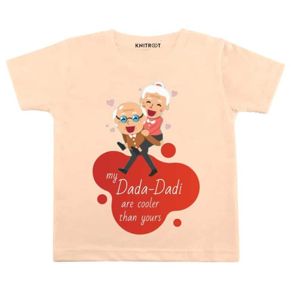 I love my dada dadi t-shirt | Personalised Tshirt